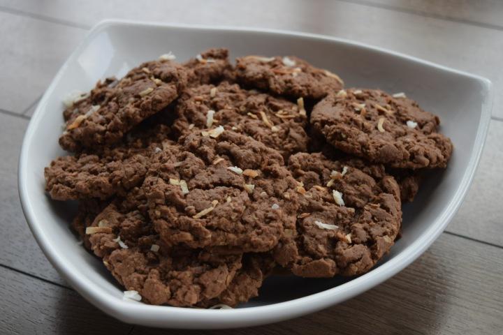 Chocolate Crispy Cookies