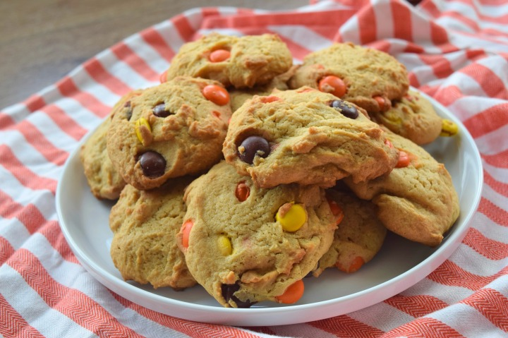 Reese's Pieces PB Cookies